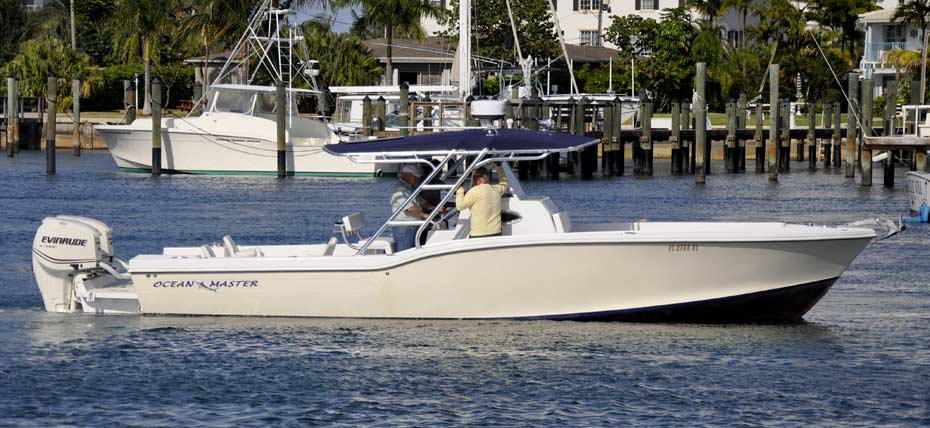 Ocean Master 336 center console boat