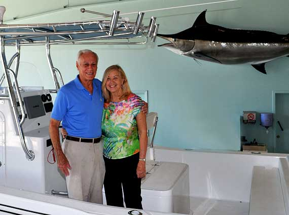 Mark and Bonnie Hauptner celebrate 40 years of building boats at Ocean Master